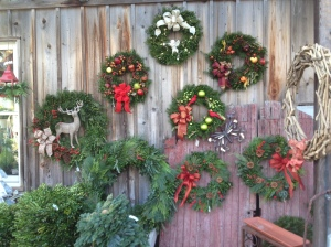 Custom made wreathes
